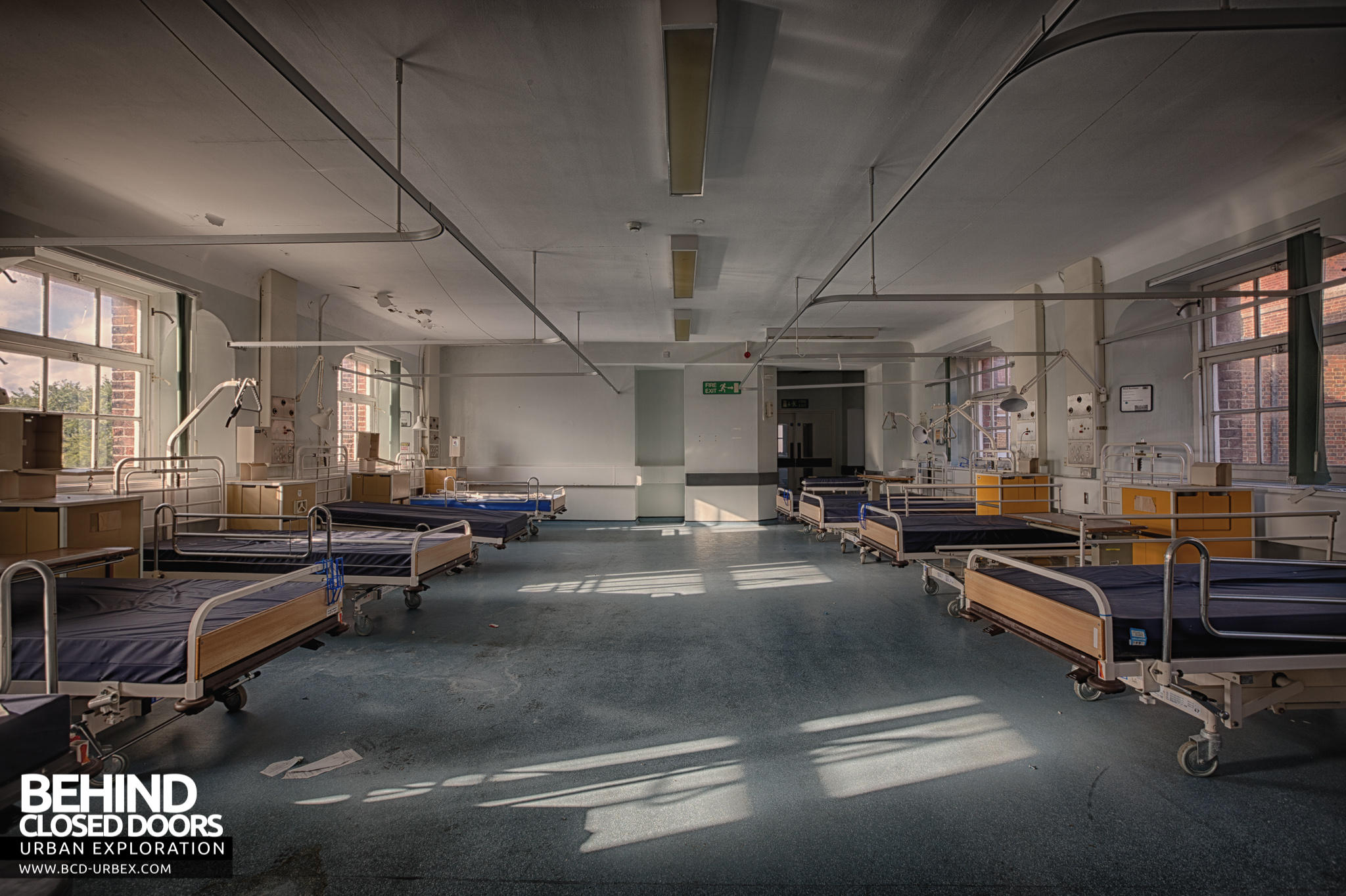 Royal Naval Hospital Haslar Gosport Uk 187 Urbex Behind