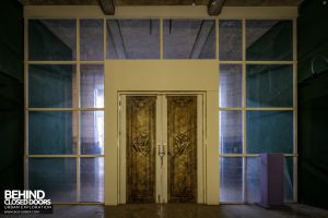 Battersea Power Station - Bronze doors