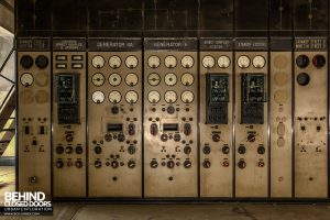 Battersea Power Station - Control panels