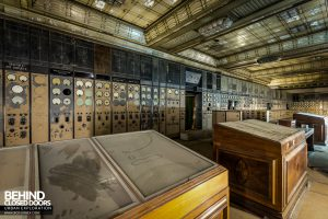 Battersea Power Station - Control room desks