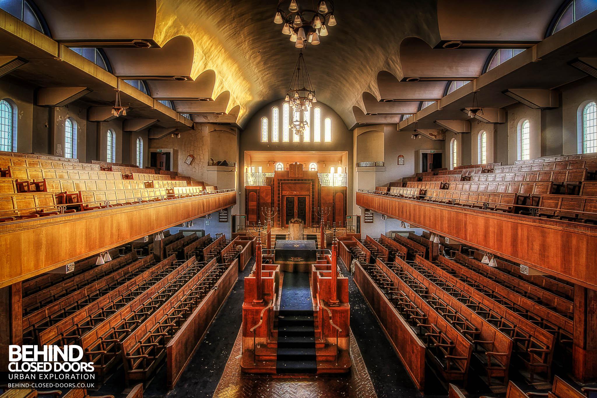 Greenbank Synagogue Liverpool England 187 Urbex Behind