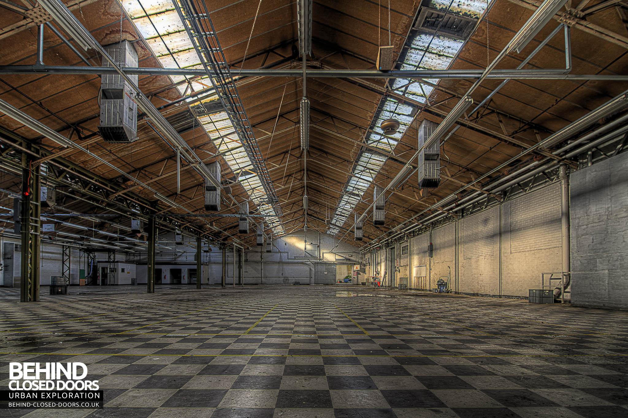 Sanyo Electronics Factory Lowestoft 187 Urbex Behind