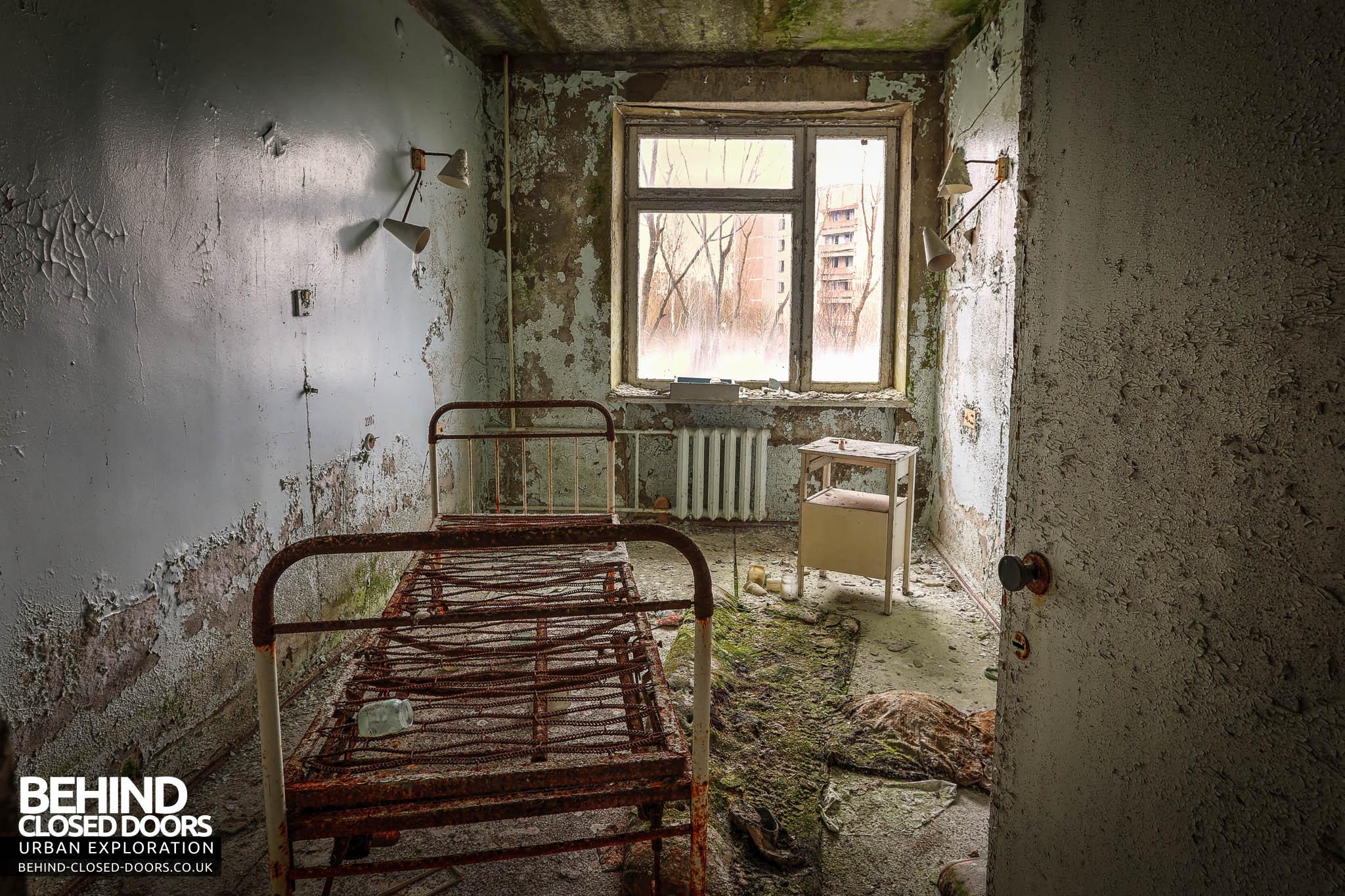 Pripyat Hospital Msch 126 Medico Sanitary Unit 187 Urbex