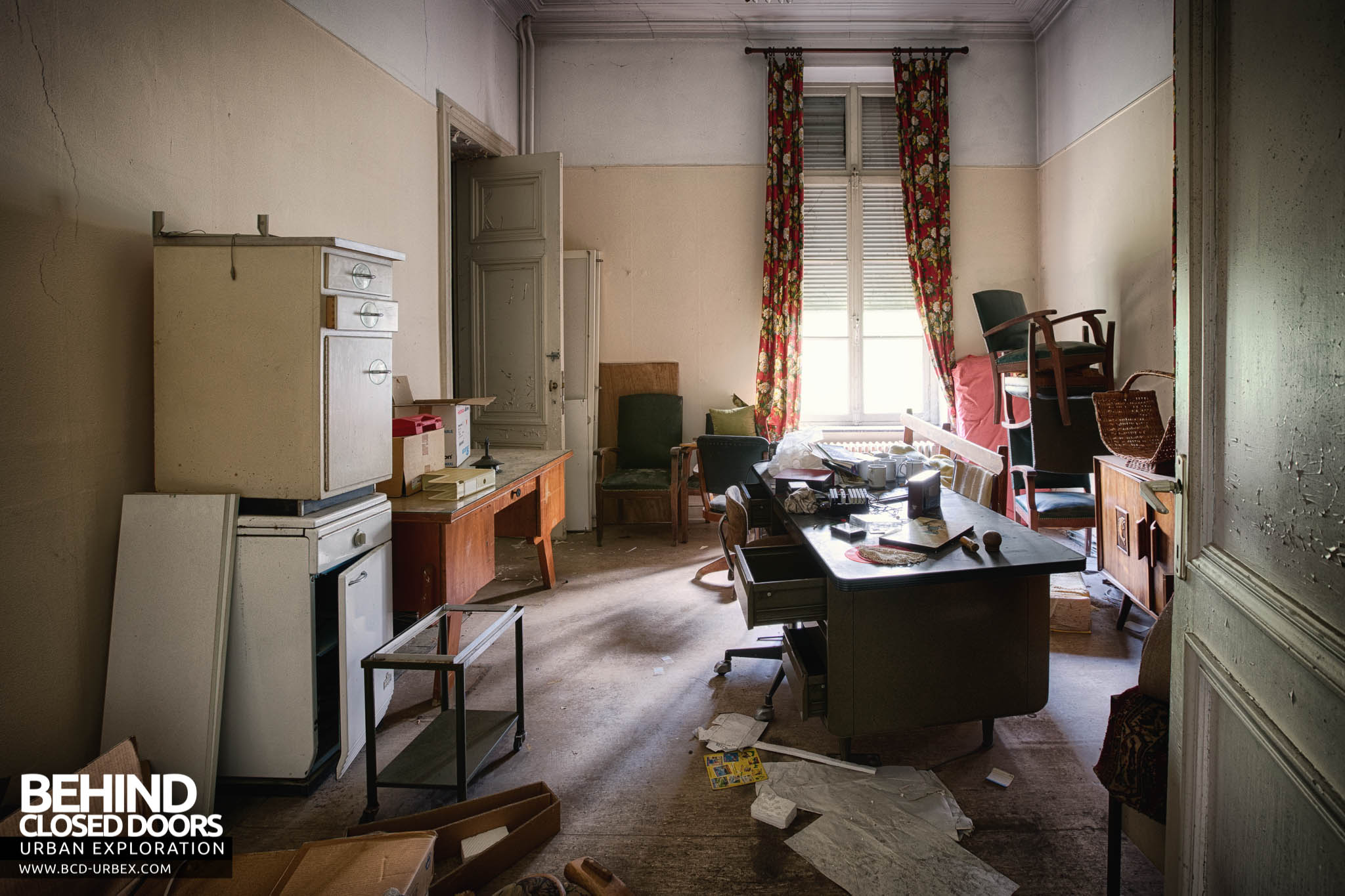 Villa Directeur Belgium 187 Urbex Behind Closed Doors