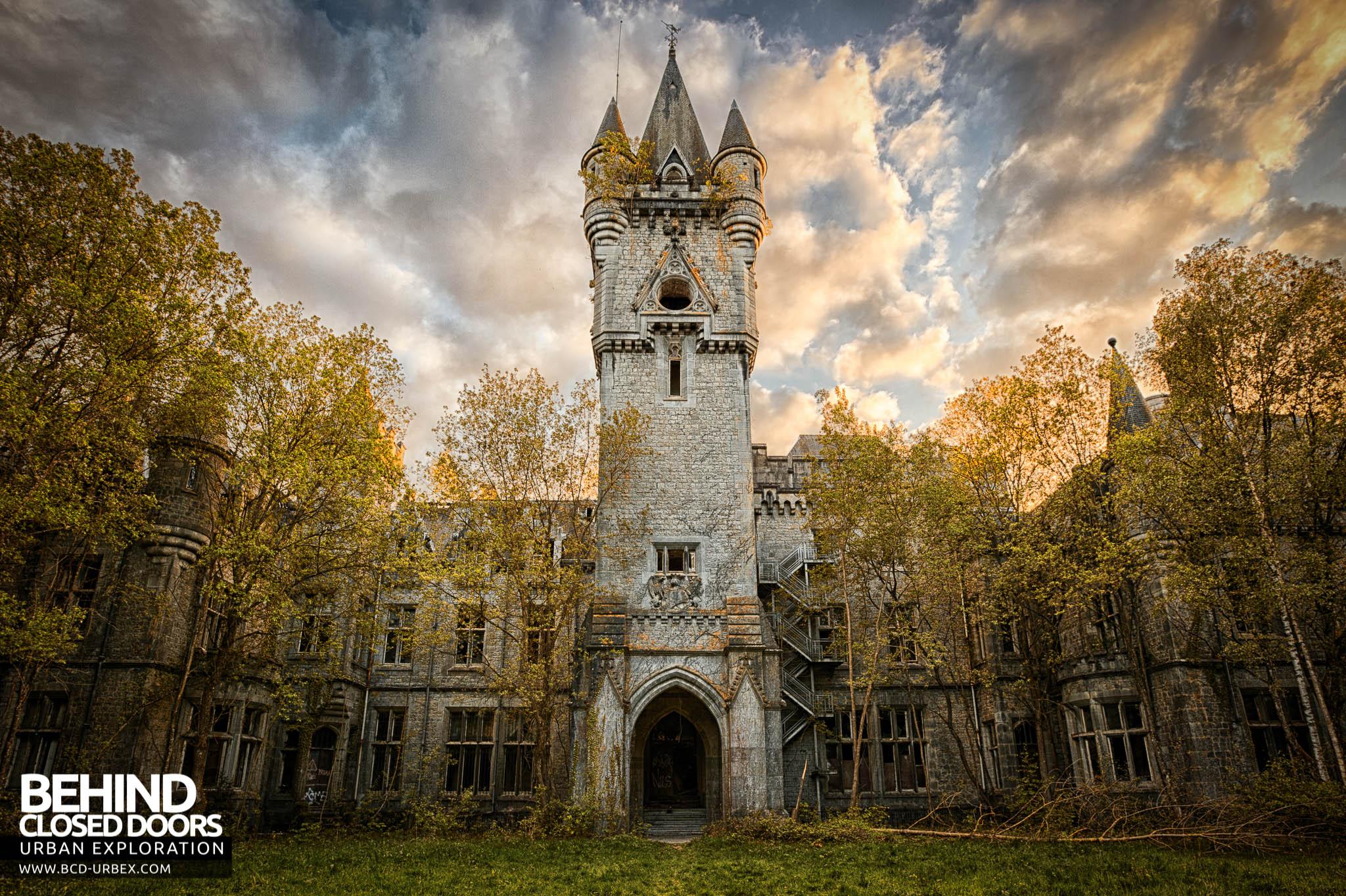 Castle Miranda Aka Ch 226 Teau De Noisy Belgium 187 Urbex