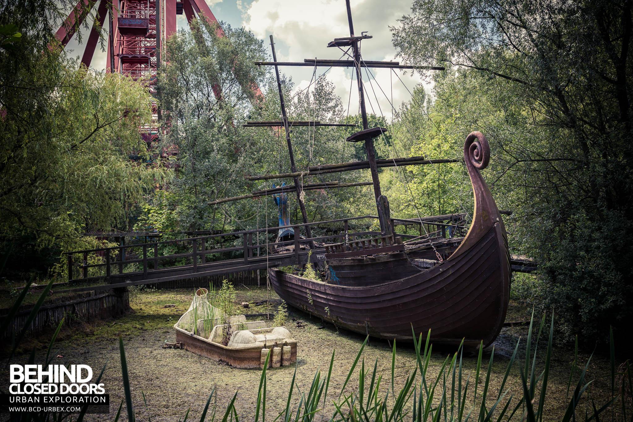 Abandoned Amusement Park Spreepark Berlin Germany 187 Urbex Behind Closed Doors