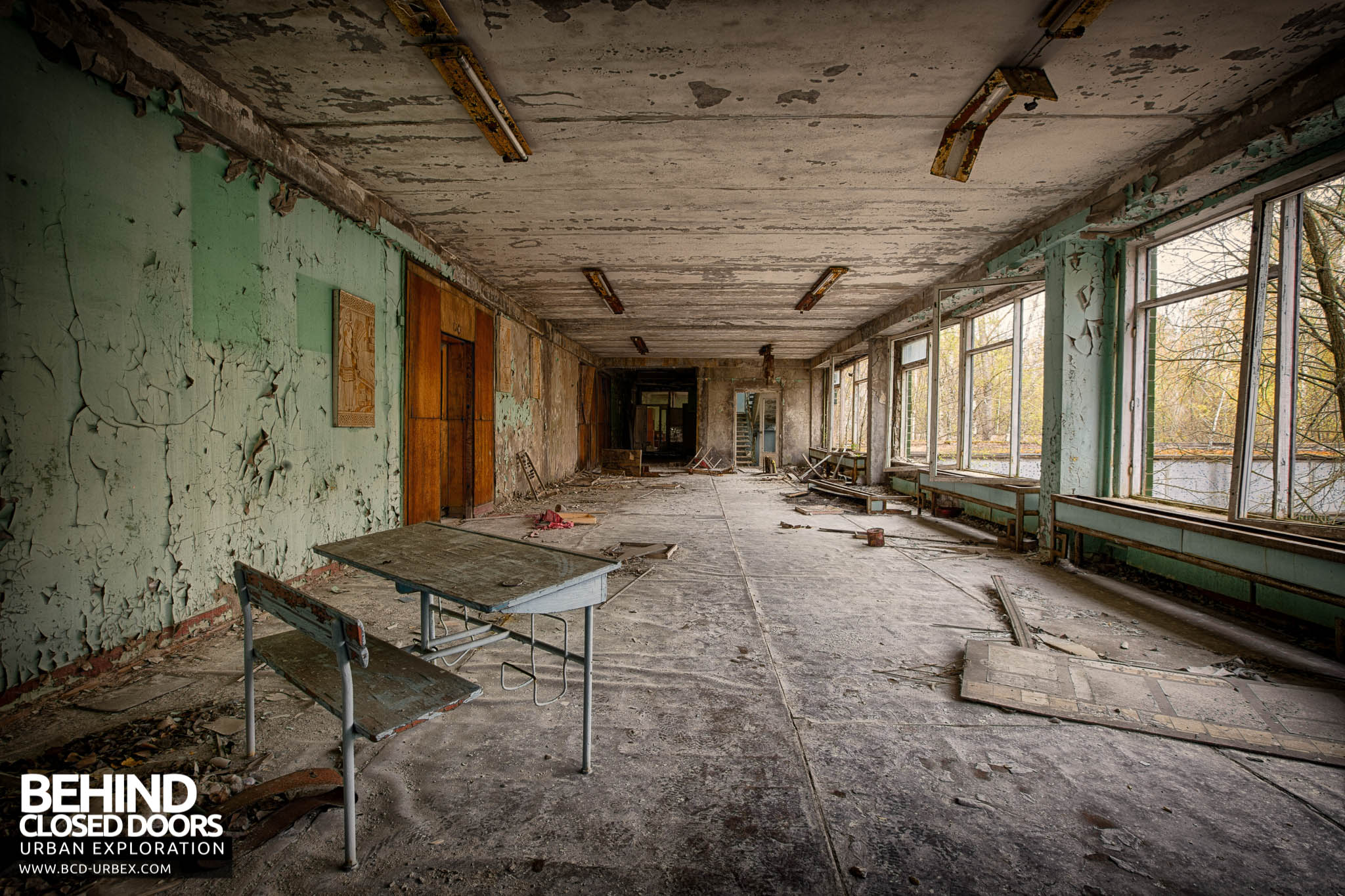Pripyat Schools And Nurseries 187 Urbex Behind Closed