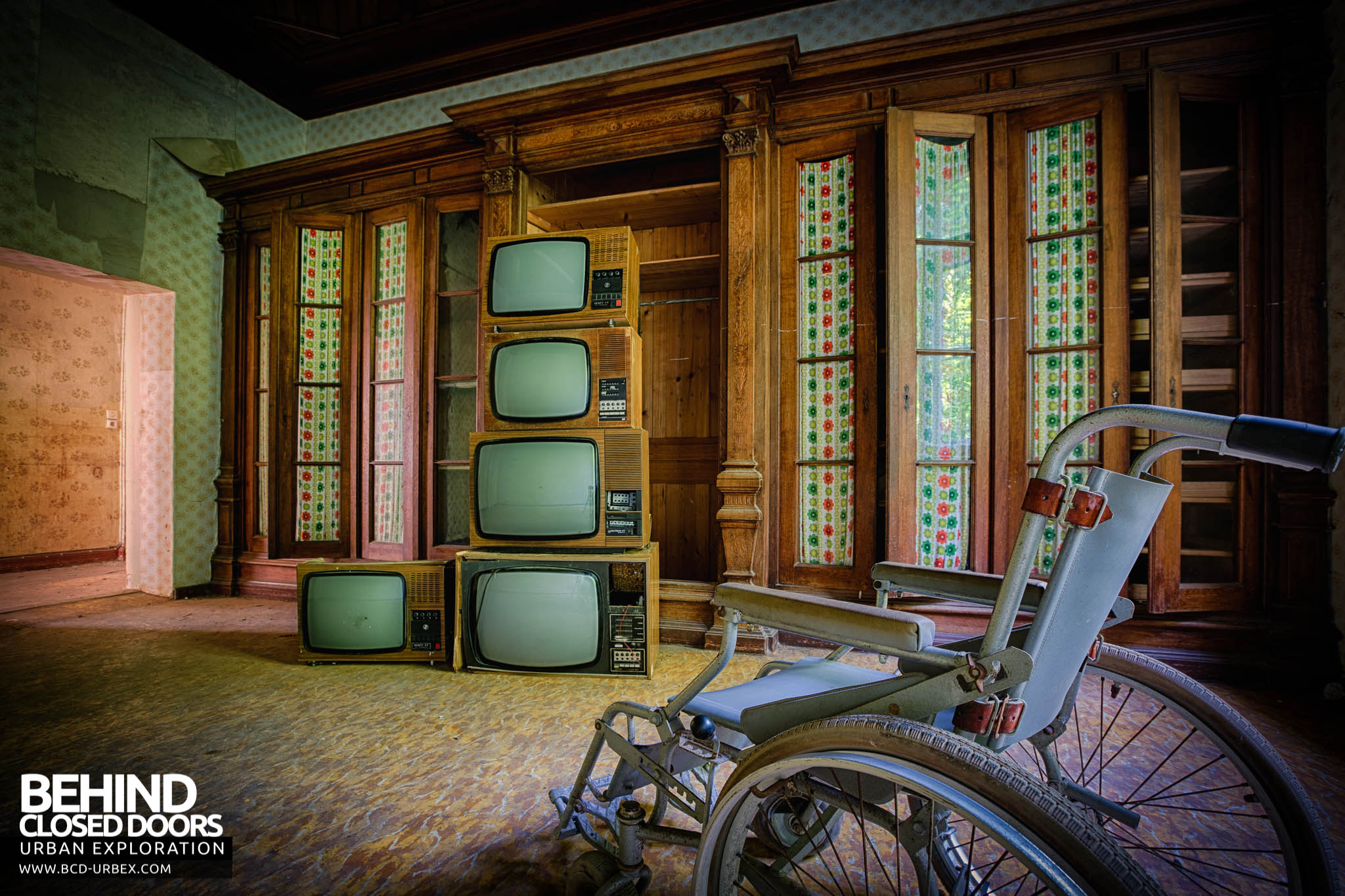 Hospital Of Wheelchairs Germany 187 Urbex Behind Closed