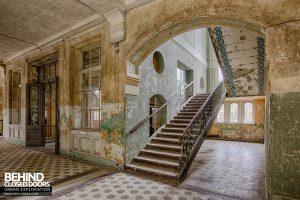 Beelitz Heilstätten Bath House - Staircase