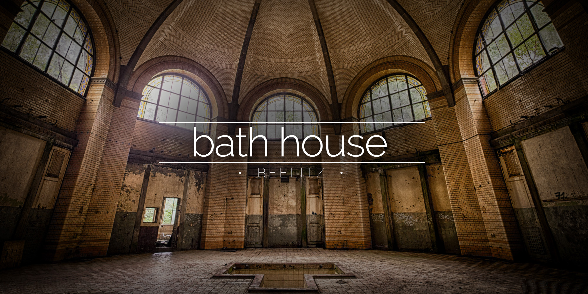 Amazing Mansions Beelitz Heilst 228 Tten Central Bath House Germany 187 Urbex