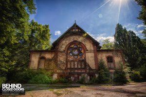 Beelitz Heilstätten Male Pavilion - Hall External