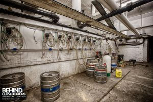 D9 Nightclub - Beer kegs in cellar
