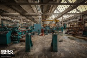 Fletchers Paper Mill - Finishing department