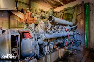RAF Upwood Clinic - Huge backup generator