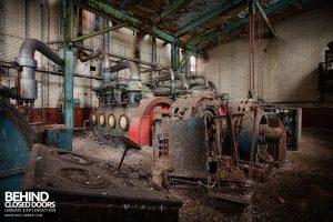 Grimsby Ice Factory - Metropolitan Vickers Electric Motors