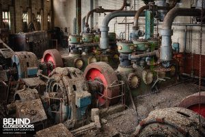 Grimsby Ice Factory - J&E Hall Compressors