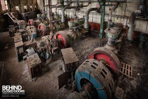 Grimsby Ice Factory - Compressor hall