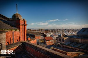 Grimsby Ice Factory - View from the roof