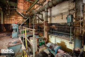 Grimsby Ice Factory - Pump bed