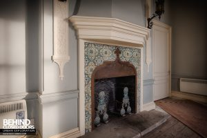 Stanford Hall - Fireplace detail