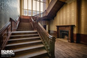 Stanford Hall - Staircase