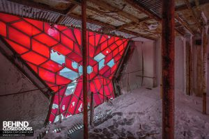 Buzludzha - Inside the star up the tower