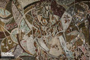 Buzludzha - Mosaic tiles