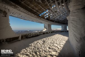 Buzludzha - Internal Walkway around the perimeter