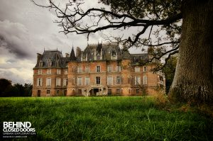 Château Japonais, France - External with tree