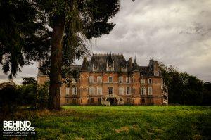 Château Japonais, France - Rear view