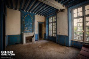 Château P12 - Blue room