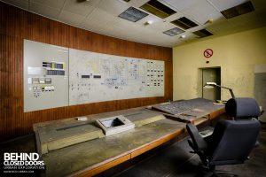 Bergwerk West Friedrich-Heinrich, Germany - Control room