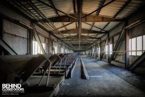 Bergwerk West Friedrich-Heinrich, Germany - Coal conveyors