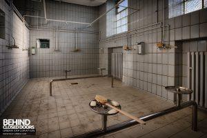 Bergwerk West Friedrich-Heinrich, Germany - Showers