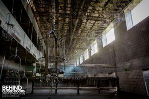 Bergwerk West Friedrich-Heinrich, Germany - Another basket room