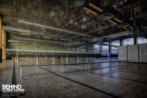 Bergwerk West Friedrich-Heinrich, Germany - Basket room
