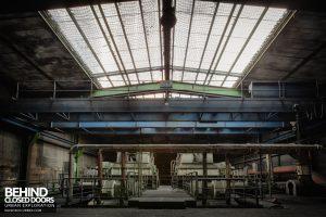 Bergwerk West Friedrich-Heinrich, Germany - Coal processing machines