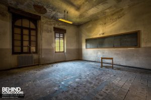 Blue Chapel Monastery, Italy - Classroom