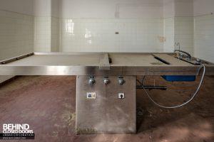Hospital SC, Italy - Morgue Slab
