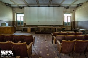 Hospital SC, Italy - Lecture Theatre