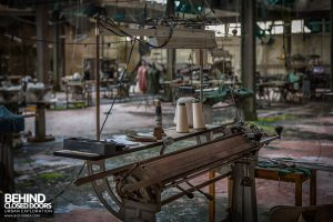 Knitting Factory, Italy - Dress making equipment