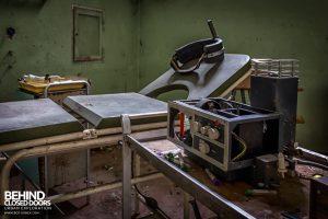 Manicomio di Colorno, Italy - Electroshock therapy
