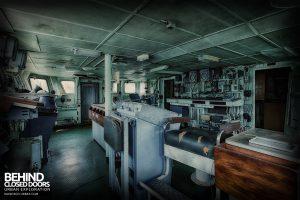Atlantic Ghost Fleet - Captains seat