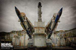 Atlantic Ghost Fleet - Twin missiles