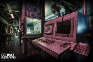 Ford Plant, Swaythling - Control station