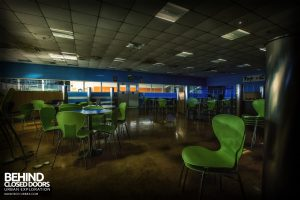 Ford Plant, Swaythling - Staff canteen