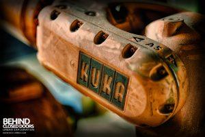 Ford Plant, Swaythling - Kuka logo detail