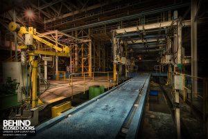 Ford Plant, Swaythling - Conveyor system