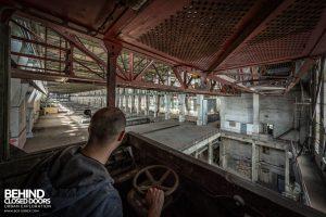 Kraftwerk V, Germany - Driving the crane