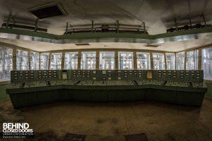 Kraftwerk V, Germany - Control desk